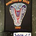 Monsters Of Rock - Patch - Monsters Of Rock 1990