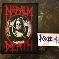 Patch - Napalm Death - Grindcrusher