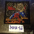Patch - Iron Maiden - Number Of The Beast
