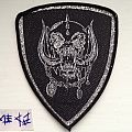 Motörhead - Patch - Motorhead - Snaggletooth Shield (not for sale or trade)