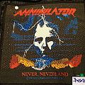 Patch - Annihilator Never, Neverland (not for sale or trade)