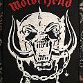 Motörhead - Patch - Motorhead - Motorhead back patch.