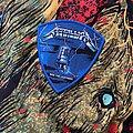 Metallica - Patch - Metallica Ride The Lightning Blue Border Patch