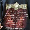 Bolt Thrower - TShirt or Longsleeve - Bolt Thrower tour
