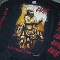 """Grave - TShirt or Longsleeve - """" And Here I Die ... Satisfied! """" longsleeve"""