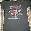 Judas Priest - TShirt or Longsleeve - 1981 Point Of Entry USA Tour Shirt