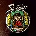 """Savatage - Pin / Badge - Savatage """"Hall Of The Mountain King"""" Pin."""