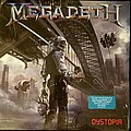 """Megadeth - Tape / Vinyl / CD / Recording etc - Megadeth """"Dystopia"""" LP And Patch."""