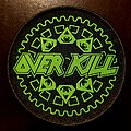 """Overkill - Patch - Overkill """"The Grinding Wheel"""" Tour Patch."""