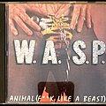 "W.A.S.P. - Tape / Vinyl / CD / Recording etc - W.A.S.P. ""Animal (F**k Like A Beast)"" CD And Pin."