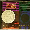 """Nuclear Assault - Tape / Vinyl / CD / Recording etc - Nuclear Assault """"Out Of Order"""" Promo CD."""