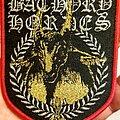 Bathory - Patch - Original Bathory Hordes Shield Patch.