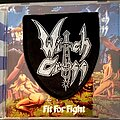"""Witch Cross - Tape / Vinyl / CD / Recording etc - Witch Cross """"Fit To Fight"""" CD Reissue And Patch."""