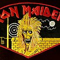 Iron Maiden - Patch - Iron Maiden S/T BP.