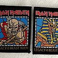 """Iron Maiden - Patch - Iron Maiden """"Legacy Of The Beast"""" Tour Patch Set."""