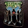 """Testament - Pin / Badge - Testament """"Souls Of Black"""" Enamel Pin."""