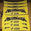 Helloween - Patch - Helloween 'Dr. Stein' woven superstrip patch.