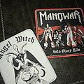 Manowar - Patch - First tshirtslayer patches