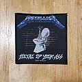 Metallica - Patch - Metallica metal up your ass patch