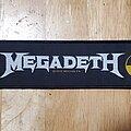 Megadeth - Patch - Megadeth strip patch