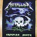 Metallica - Patch - Creeping death back patch Metallica