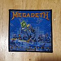 Megadeth - Patch - Megadeth rust in piece patch