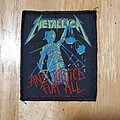 Metallica - Patch - Metallica and justice for all patch
