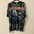 Iron Maiden - TShirt or Longsleeve - Iron Maiden Real Live Tour 1993 Allover Eddie