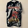 Iron Maiden - TShirt or Longsleeve - Iron Maiden The Number Of The Beast 1992 Official Allover Print