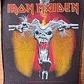 Iron Maiden - Patch - Eddie torn head patch (A real dead one)
