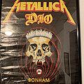 Metallica - Other Collectable - Metallica/Dio Concert Poster