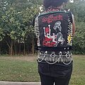 GOAT SEMEN - Battle Jacket - Cropped denim battle vest!
