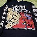 Napalm Death - TShirt or Longsleeve - Napalm Death harmony corruption