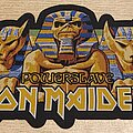 Iron Maiden - Patch - Iron Maiden Powerslave Oversized Patch