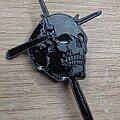 Candlemass - Pin / Badge - Candlemass Skull Pin