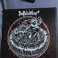 Inquisition - Bloodshed Across The Empyrean Altar Beyond The Celestial Zenith clear red vinyl Tape / Vinyl / CD / Recording etc