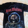 TShirt or Longsleeve - Iron Maiden final frontier allover print.
