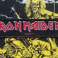 Iron Maiden - Patch - Iron Maiden 'Iron Maiden Logo' Stripe Woven Patch 2011