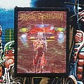Iron Maiden - Patch - Iron Maiden 'Somewhere On Tour' Photo Printed Patch (small version)