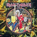 """Iron Maiden - Patch - Iron Maiden """"Bring Your Daughter To The Slaughter"""" Shaped Backpatch"""