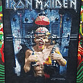 """Iron Maiden - Patch - Iron Maiden """"The X Factor"""" Backpatch 1995"""
