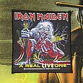 Iron Maiden - Patch - Iron Maiden 'A Real LIVE One' Patch