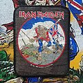 Iron Maiden - Patch - Iron Maiden 'The Trooper' Printed Patch 1984 (green/brown colours)