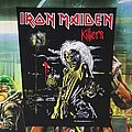 Iron Maiden - Patch - Iron Maiden 'Killers' Backpatch 1981