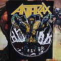 Anthrax - Patch - Anthrax 'Judge Death' Backpatch 1987