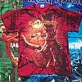 "Iron Maiden - TShirt or Longsleeve - Iron Maiden ""Fear of the Dark"" 2010 Red Edition Medium Size"