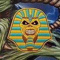 Iron Maiden - Patch - Iron Maiden 'Pharaoh Eddie' Embroidered Patch Metal Hammer Edition