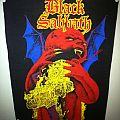 Patch - Black Sabbath - Born Again Backpatch