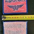 Saxon - Patch - Saxon patch   NOS
