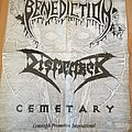 Benediction World Violation Tour Poster